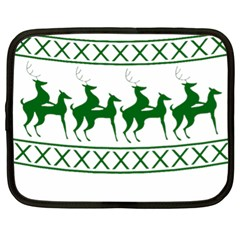 Humping Reindeer Ugly Christmas Netbook Case (xl)