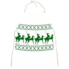 Humping Reindeer Ugly Christmas Full Print Aprons