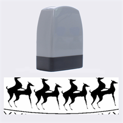Humping Reindeer Ugly Christmas Name Stamps