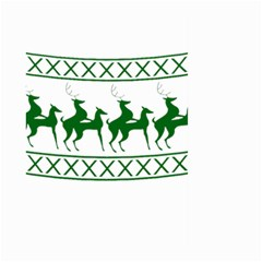 Humping Reindeer Ugly Christmas Large Garden Flag (two Sides)