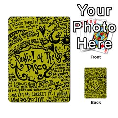 Panic! At The Disco Lyric Quotes Multi Purpose Cards (rectangle)