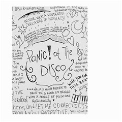 Panic! At The Disco Lyrics Large Garden Flag (two Sides)