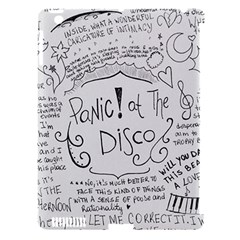 Panic! At The Disco Lyrics Apple Ipad 3/4 Hardshell Case (compatible With Smart Cover)
