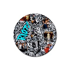 Panic! At The Disco College Rubber Round Coaster (4 Pack)