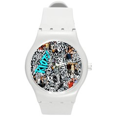 Panic! At The Disco College Round Plastic Sport Watch (m)
