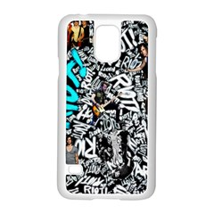 Panic! At The Disco College Samsung Galaxy S5 Case (white)
