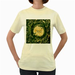 Panic At The Disco Women s Yellow T Shirt