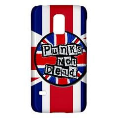 Punk Not Dead Music Rock Uk United Kingdom Flag Galaxy S5 Mini