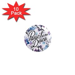 Panic! At The Disco 1  Mini Magnet (10 Pack)