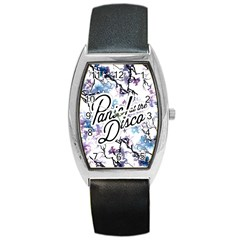 Panic! At The Disco Barrel Style Metal Watch