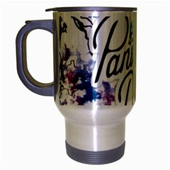 Panic! At The Disco Travel Mug (silver Gray)