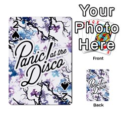 Panic! At The Disco Playing Cards 54 Designs