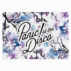 Panic! At The Disco Large Glasses Cloth (2 Side)
