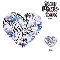 Panic! At The Disco Multi Purpose Cards (heart)