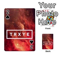 Trxye Galaxy Nebula Playing Cards 54 Designs
