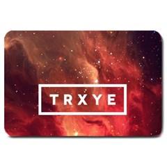 Trxye Galaxy Nebula Large Doormat