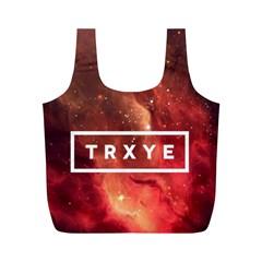 Trxye Galaxy Nebula Full Print Recycle Bags (m)
