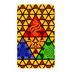The Triforce Stained Glass Memory Card Reader