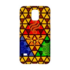 The Triforce Stained Glass Samsung Galaxy S5 Hardshell Case