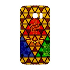The Triforce Stained Glass Galaxy S6 Edge