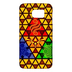 The Triforce Stained Glass Galaxy S6