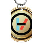 Twenty One Pilots Shield Dog Tag (Two Sides) Front