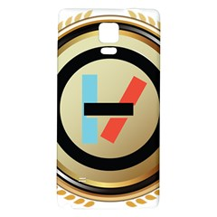 Twenty One Pilots Shield Galaxy Note 4 Back Case