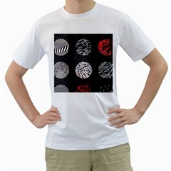 Twenty One Pilots Stressed Out Men s T Shirt (white) (two Sided)
