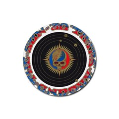 The Grateful Dead Rubber Round Coaster (4 Pack)