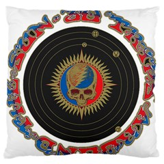 The Grateful Dead Large Flano Cushion Case (two Sides)