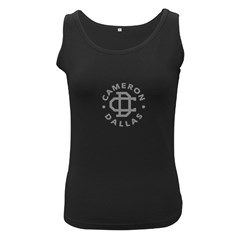Cameron Dallas Women s Black Tank Top