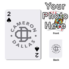 Cameron Dallas Playing Cards 54 Designs