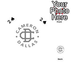 Cameron Dallas Playing Cards 54 (heart)