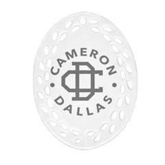 Cameron Dallas Ornament (oval Filigree)