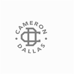 Cameron Dallas Small Garden Flag (two Sides)