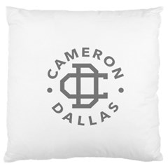 Cameron Dallas Large Flano Cushion Case (two Sides)