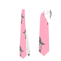 Hotline Bling Pattern Neckties (one Side)