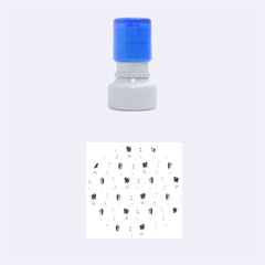 Hotline Bling Pattern Rubber Round Stamps (small)