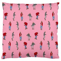 Hotline Bling Pattern Large Cushion Case (two Sides)