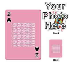 1 800 Hotline Bling Playing Cards 54 Designs