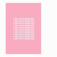 1 800 Hotline Bling Small Garden Flag (two Sides)