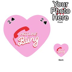 Hotline Bling Playing Cards 54 (Heart)