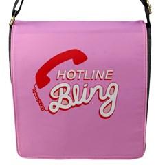 Hotline Bling Flap Messenger Bag (s)