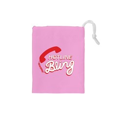 Hotline Bling Drawstring Pouches (small)