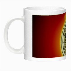 Deutschland Logos Football Not Soccer Germany National Team Nationalmannschaft Night Luminous Mugs