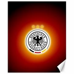Deutschland Logos Football Not Soccer Germany National Team Nationalmannschaft Canvas 16  X 20