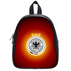 Deutschland Logos Football Not Soccer Germany National Team Nationalmannschaft School Bags (small)