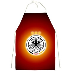 Deutschland Logos Football Not Soccer Germany National Team Nationalmannschaft Full Print Aprons