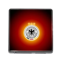 Deutschland Logos Football Not Soccer Germany National Team Nationalmannschaft Memory Card Reader (square)