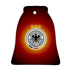 Deutschland Logos Football Not Soccer Germany National Team Nationalmannschaft Ornament (bell)